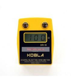 Máy đo điện trở kíp mìn Kobla XR3