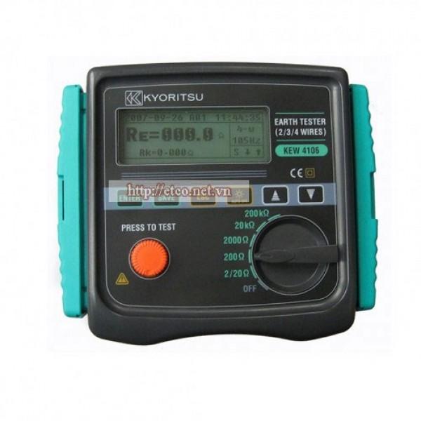 Đồng hồ đo điện trở đất Kyoritsu 4106