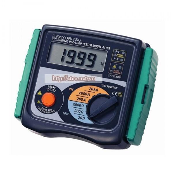 Đồng hồ đo điện trở đất Kyoritsu 4118A