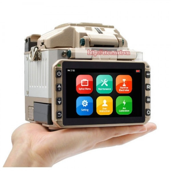 Máy hàn cáp quang mini FiberFox 6s