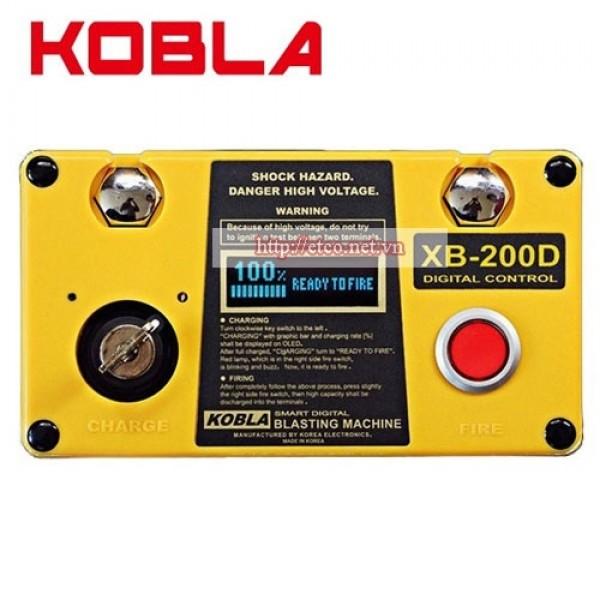 Máy bắn mìn Kobla XB-200D (200 kíp nổ)