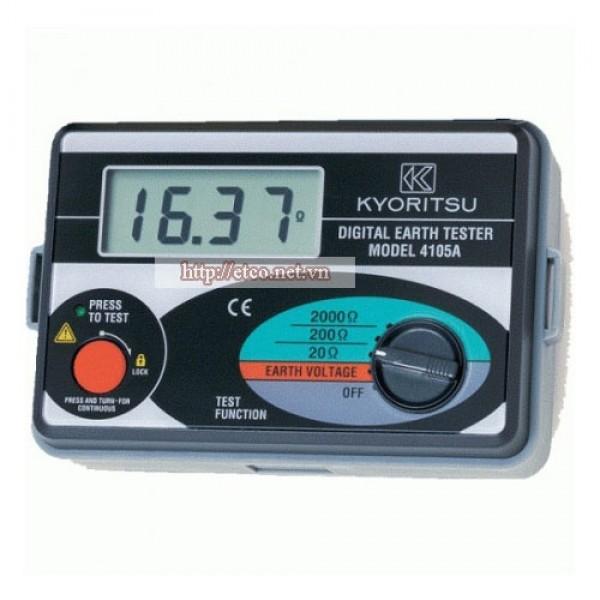 Máy đo điện trở đất Kyoritsu 4105A