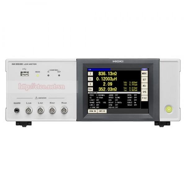 Máy đo LCR Hioki IM-3536