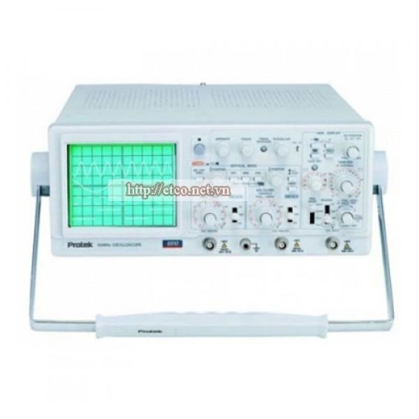 Máy hiện sóng tương tự Protek 6502A (2Ch, 20Mhz)