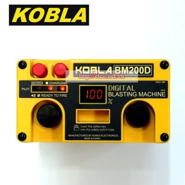 Máy nổ mìn Kobla BM200D (200 kíp nổ)