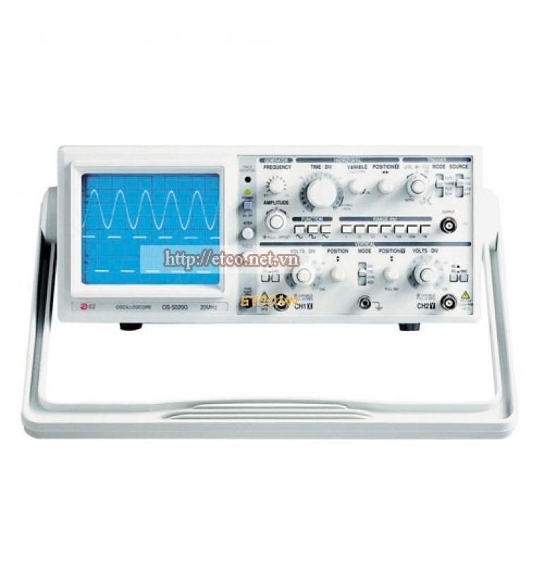 Máy hiện sóng tương tự EZ OS-5020A (20MHz, 2 kênh)